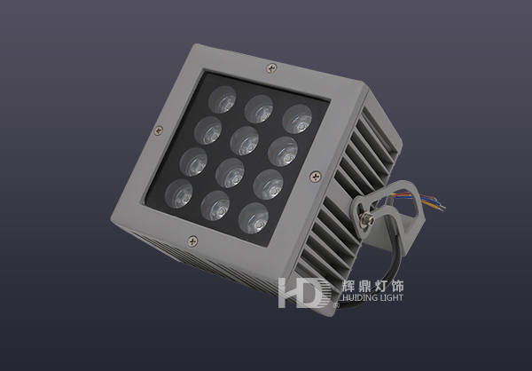 12W LED方形投光灯