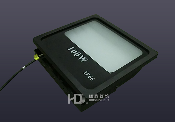 100W工程款漫散射CERR芯片LED投光灯