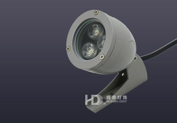 宁波3W室外防水LED子弹头大功率射灯