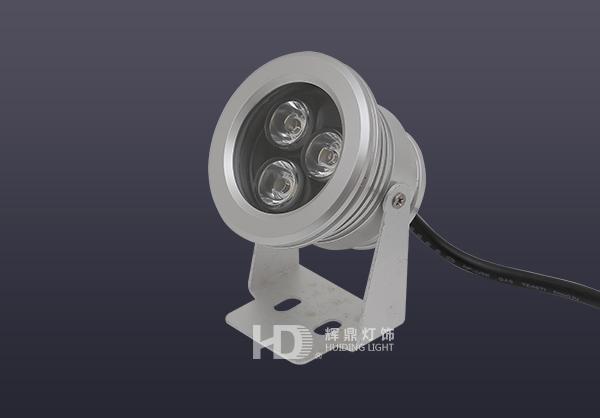 3W车铝型LED射灯