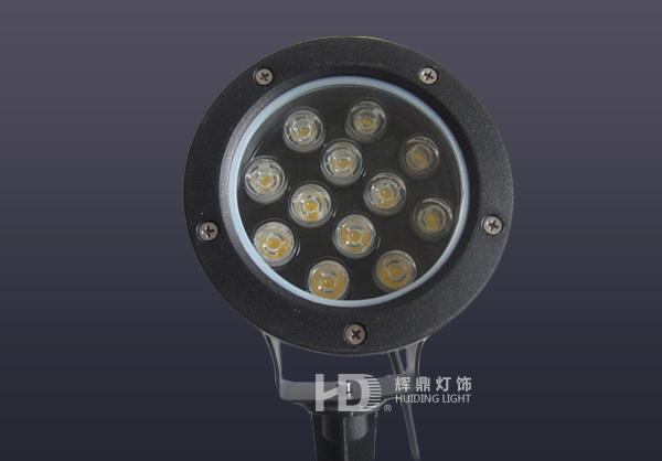 12W LED大功率地插灯
