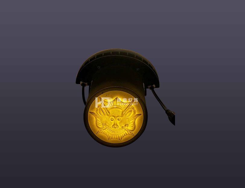6W新款瓦片灯