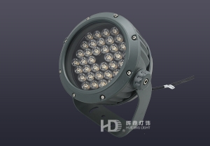 36W新款西瓜型LED投光灯