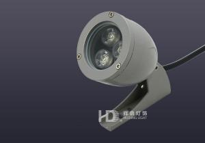 3W室外防水LED子弹头大功率射灯