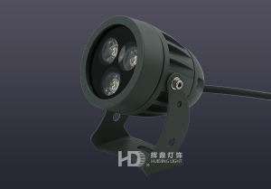 3W压铸工程款大功率射灯